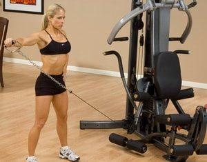 Какими бывают тренажёры для дома, развивающие максимальное количество мышц