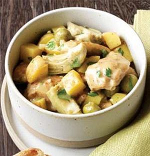Как приготовить тушёную картошку с курицей в мультиварке