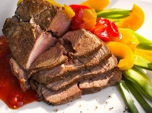 Рецепт фото блюда из говядины в духовке