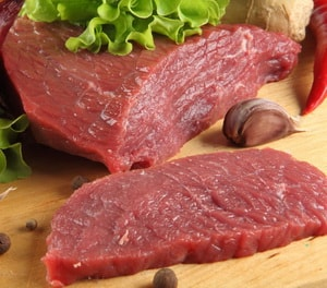 Диетическая говядина в духовке