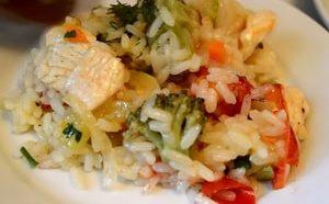 Как приготовить рис с овощами в мультиварке