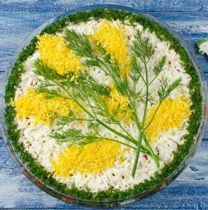 """Как приготовить классический салат """"Мимоза"""""""