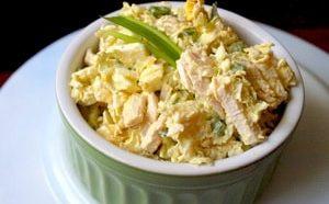 Салат из пекинской капусты с курицей 1-min