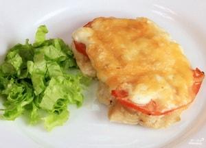 рецепт куриного филе с моцареллой в духовке