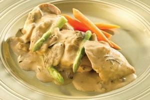 С какими еще ингредиентами можно приготовить курицу в кефире на сковороде
