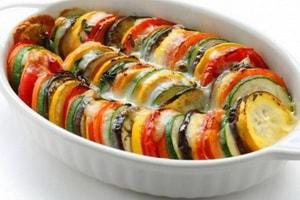 Как приготовить овощную запеканку из баклажанов и кабачков в духовке