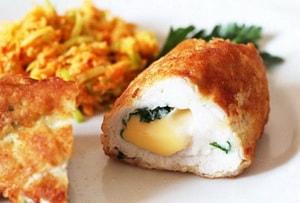 Где можно найти рецепт рулетов из куриной грудки с начинкой