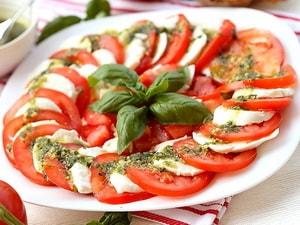 Каков классический рецепт салата Капрезе
