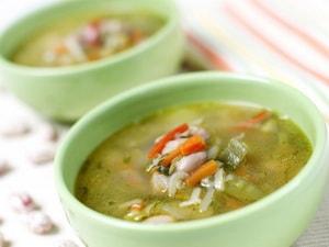 Суп овощной для похудения с сельдереем