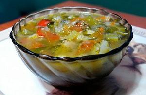 Какие ингредиенты входят в состав рецепта супа из корня сельдерея