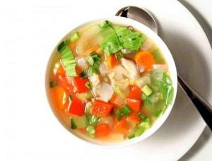 Какова диетологическая ценность овощного супа с сельдереем для похудения