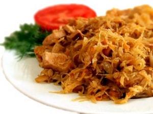 Как приготовить вкусную тушеную капусту с курицей