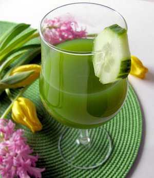 Чем полезен огуречный сок для похудения