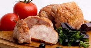 Как готовить диетический галантин из курицы по Дюкану