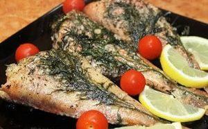 Где можно найти рецепты приготовления красного морского окуня в духовке