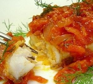 Как приготовить рыбу с овощами в духовке