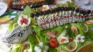 Какова диетологическая ценность фаршированной щуки, приготовленной по рецепту с фото в духовке целиком