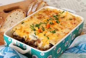 рецепт запеканки с мясом при панкреатите