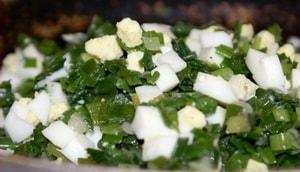 Где можно найти рецепт с фото пирога с зеленым луком и яйцом