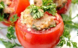 Где можно найти самый лучший рецепт фаршированных помидоров с мясным фаршем в духовке