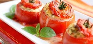 Как приготовить фаршированные помидоры с мясным фаршем