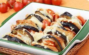 Как приготовить запеканку из баклажанов с помидорами и сыром в духовке