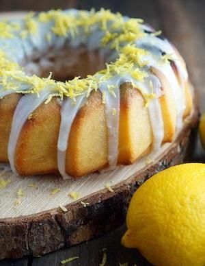 Как приготовить лимонный кекс по простому рецепту