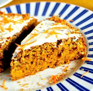 Где можно найти рецепт с фото морковного пирога пошагово