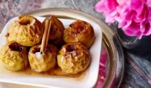 Как приготовить печеные в духовке яблоки с корицей и медом