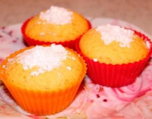 Как приготовить творожные кексы в силиконовых формочках по рецепту с фото