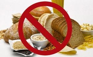 Каков список продуктов запрещенных при безглютеновой диете