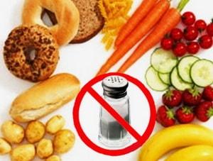 Что запрещено включать в меню бессолевой диеты на 14 дней