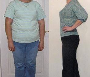 Мария похудела на 25 килограммов за 8 недель диеты Усама Хамдий