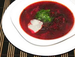 свекольник с мясом рецепт с фото горячий с мясом