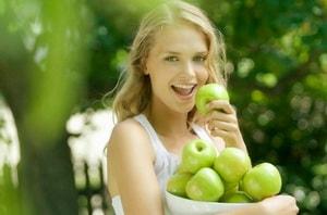 Каково меню творожно-яблочной диеты