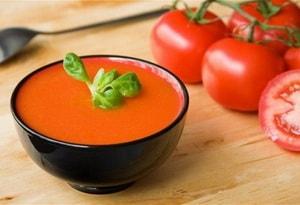 Где можно найти рецепт классического томатного супа-пюре