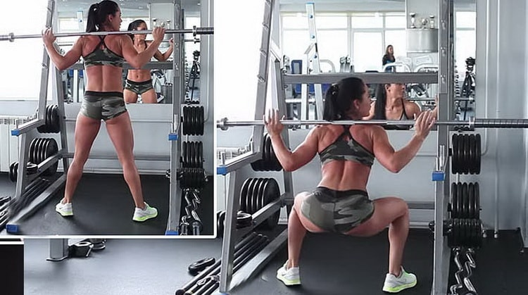 Упражнения для ног и ягодиц в тренажерном зале видео