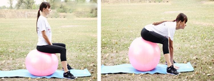 как выполнять второе упражнение разминки