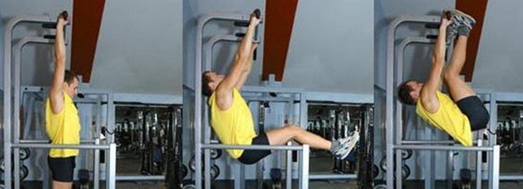как выполнять упражнение подъемы ног