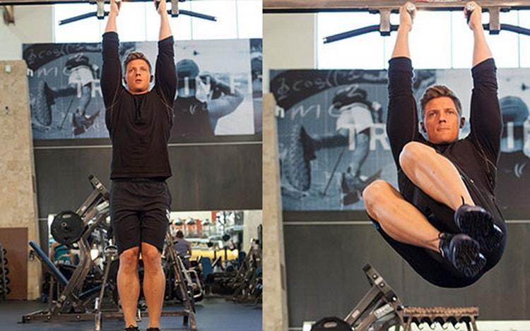 как выполнять упражнение скручивание