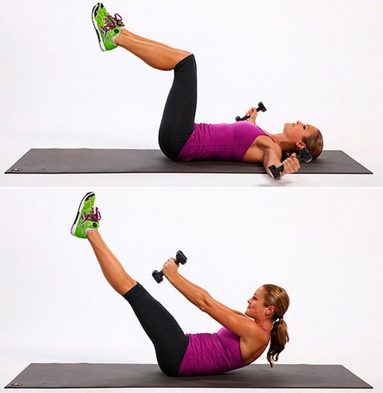 выполняем упражнение кубики