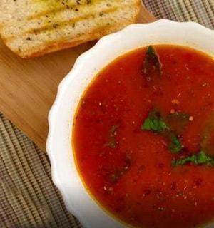 готовый суп с фунчозой