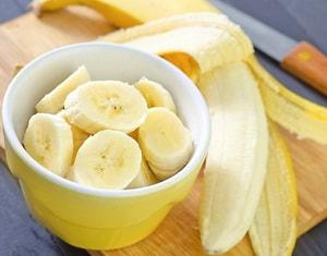 банан для овсяного печенья