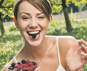 как есть ягоды и худеть