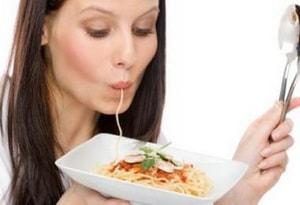макаронные изделия используют в диетических целях