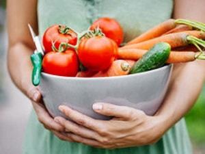 калорийность разных овощей