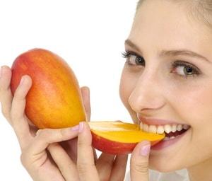 манго в меню для похудения