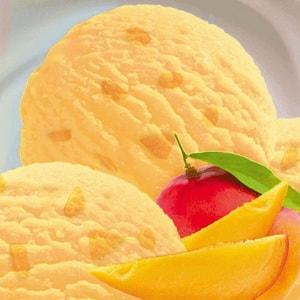 так выглядит мороженое с манго
