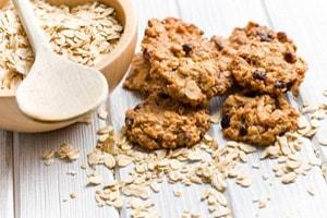 Калорийность овсяного печенья с семечками изюмом в шоколаде и диетического