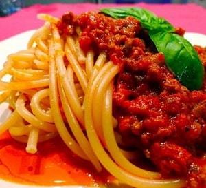 готовые отварные макароны по-итальянски